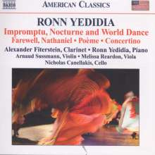 Ronn Yedidia (geb. 1960): Kammermusik für Klarinette & Klavier, CD