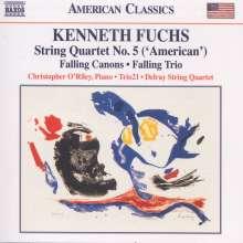 Kenneth Fuchs (geb. 1956): Streichquartett Nr.5, CD