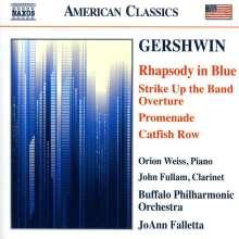 George Gershwin (1898-1937): Rhapsody in Blue für Klavier & Orchester (arr.F.Grofé), CD