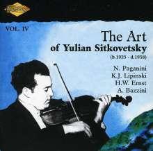 Yulian Sitkovetsky: Art Of Yulian 4, CD