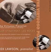 The Viruoso Pianolist - 6 World premiere pianola recordings, CD