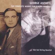 George Antheil (1900-1959): Sämtliche Werke für Streichquartett, CD