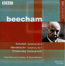 Thomas Beecham dirigiert das Royal Philharmonic Orchestra, CD