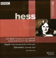 Myra Hess,Klavier, CD