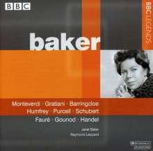 Janet Baker singt Arien & Lieder, CD