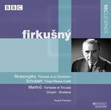 Rudolf Firkusny,Klavier, CD