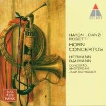 Hermann Baumann spielt Hornkonzerte, CD
