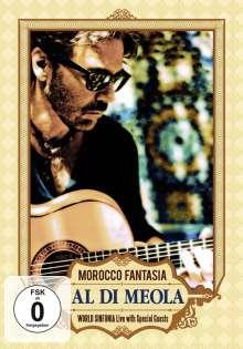 Al Di Meola (geb. 1954): Morocco Fantasia: Live 2001, DVD