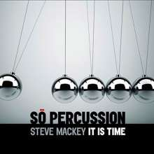 So Percussion: Mackey: It Is Time (+dvd), 2 CDs