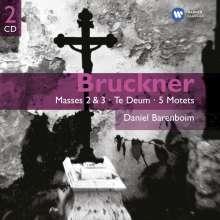 Anton Bruckner (1824-1896): Messen Nr.2 & 3, 2 CDs
