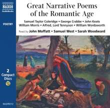 Narrative Poemes of the Romantic Age, 2 CDs