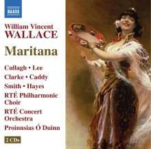 William Vincent Wallace (1812-1865): Maritana, 2 CDs