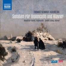 Thomas Schmidt-Kowalski (geb. 1949): Sonaten für Cello & Klavier op.4,12,99, CD