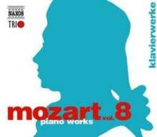 Wolfgang Amadeus Mozart (1756-1791): Naxos Mozart-Edition 8 - Klavierwerke, 3 CDs