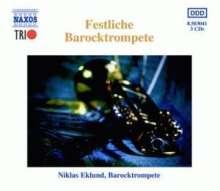 Niklas Eglund - Art of Baroque Trumpet 1-3, 3 CDs