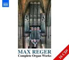 Max Reger (1873-1916): Das Orgelwerk, 16 CDs