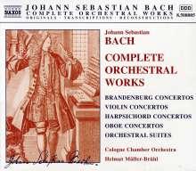 Johann Sebastian Bach (1685-1750): Das Orchesterwerk, 8 CDs
