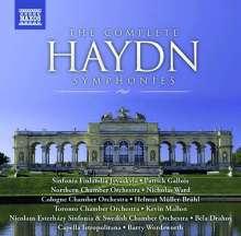 Joseph Haydn (1732-1809): Symphonien Nr.1-104 (Naxos), 34 CDs