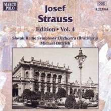 Josef Strauss (1827-1870): Joseph Strauss Edition Vol.4, CD
