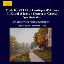Igor Markevitch (1912-1983): Orchesterwerke Vol.2, CD