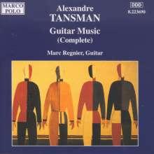 Alexandre Tansman (1897-1986): Gitarrenwerke, CD