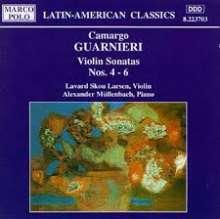 Mozart Camargo Guarnieri (1907-1993): Violinsonaten Nr.4-6, CD