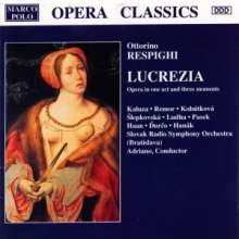 Ottorino Respighi (1879-1936): Lucrezia, CD