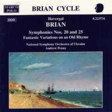 Havergal Brian (1876-1972): Symphonien Nr.20 & 25, CD