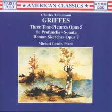 Charles Tomlinson Griffes (1884-1920): Klavierwerke Vol.1, CD