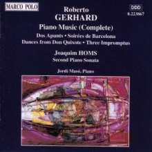 Robert Gerhard (1896-1970): Klavierwerke, CD