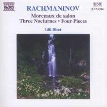 Sergej Rachmaninoff (1873-1943): Klavierwerke, CD