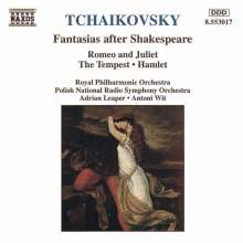 Peter Iljitsch Tschaikowsky (1840-1893): Romeo & Julia, CD