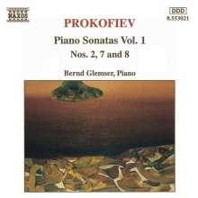 Serge Prokofieff (1891-1953): Klaviersonaten Nr.2,7,8, CD