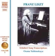 Franz Liszt (1811-1886): Klavierwerke Vol.5, CD