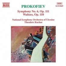 Serge Prokofieff (1891-1953): Symphonie Nr.6, CD