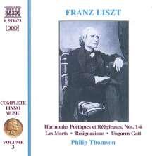 Franz Liszt (1811-1886): Klavierwerke Vol.3, CD