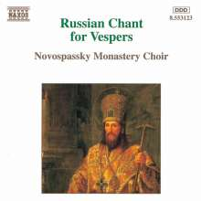 Russian Chant for Vespers, CD