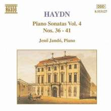 Joseph Haydn (1732-1809): Klaviersonaten H16 Nr.36-41, CD