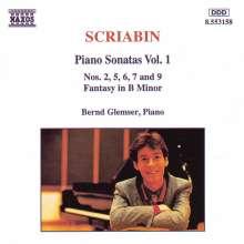 Alexander Scriabin (1872-1915): Klaviersonaten Nr.2,5-7,9, CD