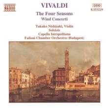 "Antonio Vivaldi (1678-1741): Concerti op.8 Nr.1-4 ""4 Jahreszeiten"", CD"