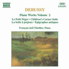 Claude Debussy (1862-1918): Klavierwerke Vol.2, CD