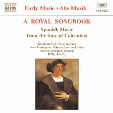 Royal Songbook from the Time of Columbus, CD