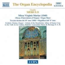 Claudio Merulo (1533-1604): Missa Virginis Mariae, 2 CDs
