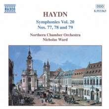 Joseph Haydn (1732-1809): Symphonien Nr.77-79, CD
