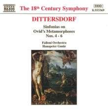 """Karl Ditters von Dittersdorf (1739-1799): Sym.Nr.4-6 nach Ovids """"Metamorphosen"""", CD"""