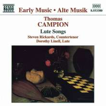 Thomas Campion (1567-1620): Lautenlieder, CD