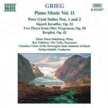 Edvard Grieg (1843-1907): Klavierwerke Vol.11, CD