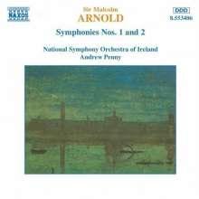 Malcolm Arnold (1921-2006): Symphonien Nr.1 & 2, CD