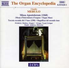 Claudio Merulo (1533-1604): Missa Apostolorum, 2 CDs