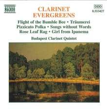 Budapest Clarinet Quintet - Evergreens, CD